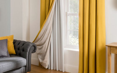 how to Hang Blackout Curtains Without Drilling